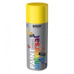 Spray vopsea Biodur Galben trafic RAL 1023