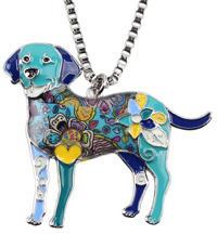 Bol-Dog. hu - Labrador tűzzománc nyaklánc