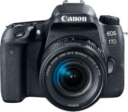 Canon EOS 77D +EF-S 18-55mm IS STM