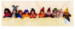 Educa 10-en az ágyban - Anne Geddes sorozat 1000 db-os (12471)