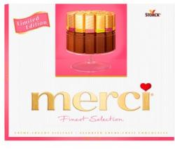 merci Finest Selection 4-féle gyümölcskrémmel 250g