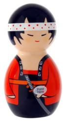 Big Teaze Toys Kokeshi Dancer vibrátor