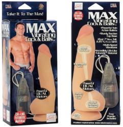 California Exotic Novelties Max Vibrating Cock & Balls