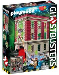 Playmobil Szellemirtók tűzoltóállomása - 9219
