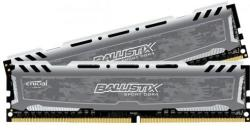Crucial Ballistix Sport LT Grey 16GB (2x8GB) DDR4 2400MHz BLS2C8G4D240FSBK