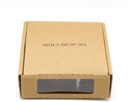 Willsoor pentru bărbați piele benzi Willsoor 7741 în vin roșu culoare