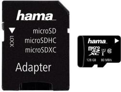 Hama microSDXC 128GB Class 10 124158