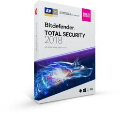 Bitdefender Total Security 2018 (3 Device/1 Year) DB11911003