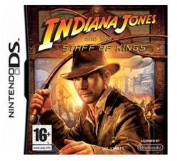 LucasArts Indiana Jones and the Staff of Kings (Nintendo DS)