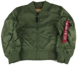 Alpha Industries MA-1 TT Kids - sage green