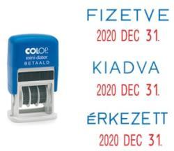 Gungldekor COLOP S160 dátum bélyegző (gumival együtt)