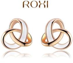 ROXI Aranyfonat Fülbevaló 18 Karátos Arany Bevonattal