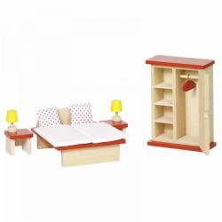 Goki Mobilier pentru casute papusi - Dormitor (GOKI51715)
