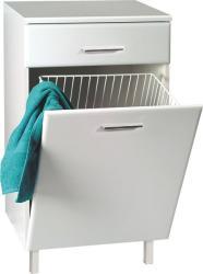Vásárlás: Aqualine Zoja alsó szekrény szennyeskosárral 51310 Fürdőszoba bútor árak ...