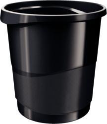 ESSELTE Cos hartii 14l plastic negru, ESSELTE Europost Vivida