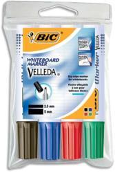 BIC Marker whiteboard 4 culori/set, BIC Velleda 1701