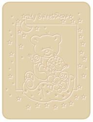 Bobobaby Paturica Plusata 3D - Ursulet maro