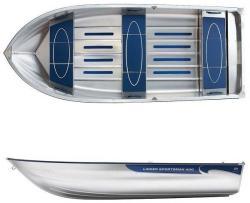 Linder Barca aluminiu LINDER 400 SPORTSMAN (13, 2 ft) (AN. L400000)