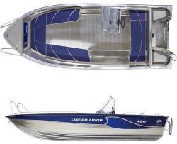 Linder Barca aluminiu LINDER 460 ARKIP (AN. L460000MP)