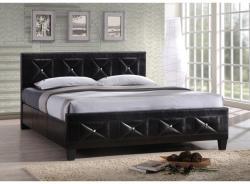 Tempo Kondela Carisa ágy rácsozott deszkával 160x200cm