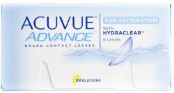 Johnson & Johnson Acuvue Advance for Astigmatism (6) - 2 heti