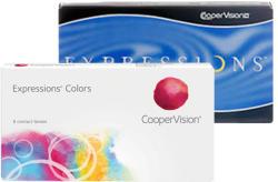 CooperVision Expressions Colors (3) - Havi (fedőszín)