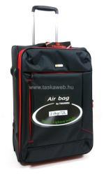 Touareg kétkerekű bővíthető közepes bőrönd (TG6287-M)