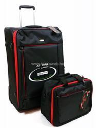 Touareg 2 részes szett, közepes bőrönd+fedélzeti táska (TG6287-M)