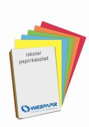 Színes papírkészlet, A4, 80 gr. 5x5 szín (130115)
