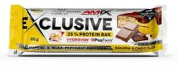 Amix Exclusive Protein bar 85g Banán-Csoki