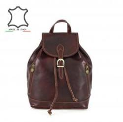 Made in Italy Olasz bőr hátizsák Zosima - barna