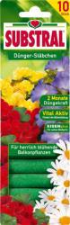 SUBSTRAL Táprudacska Balkonnövényekhez 10db