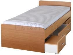 Tempo Kondela Duet 80262 ágy ágyneműtartóval 90x200cm