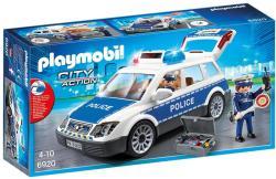Playmobil Masina De Politie Cu Lumina Si Sunete (PM6920)
