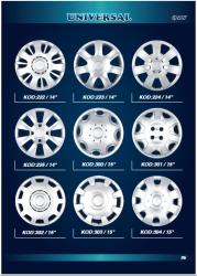 "Dobozos 15"" Vw, Opel, Suzuki, Ford, Renault (disztárcsa)"