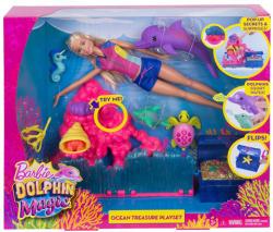 Mattel Barbie - Delfin Varázs - Kincskereső játékkészlet