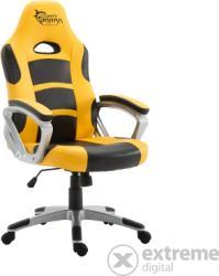 White Shark SPEED MASTER Gamer szék, sárga/fekete (061632053597)