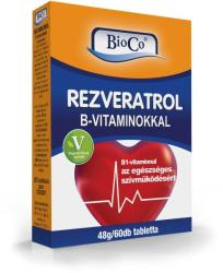 BioCo Rezveratrol tabletta (60 db)
