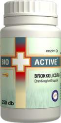 Bio+ Active Brokkolicsíra kapszula (250 db)