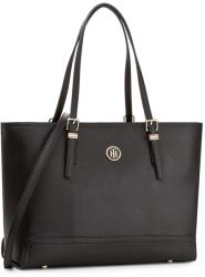 52 560 Ft Tommy Hilfiger Táska TOMMY HILFIGER - Honey Med Tote AW0AW04547  002 f9e946214a