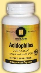 Highland Laboratories Acidophilus 2 billion - 90db