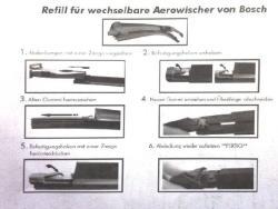 Berner Ablaktörlő gumi hagyományos és új típusú Bosch Aerotwin, penge lapátokhoz, 6, 3mm széles 75cm hosszú