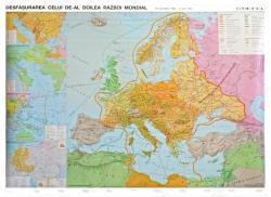 Stiefel Al doilea Razboi Mondial - Harta de perete