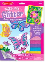 Melissa & Doug Glitter képkészítő pillangók és virágok (9511)