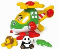 WOW Toys Harry, az állatmentő helikopter