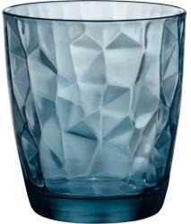 Bormioli Rocco Pahar pentru apă Bormioli Rocco Diamond 305 ml, albastru