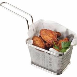 APS Coșuleț pentru servire mâncare, inox 10, 5x13, 5x8 cm APS, rectangular, mare