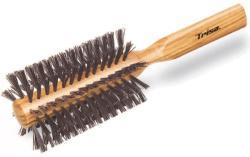 Trisa Haute Coiffure Styling Large Perie de par, cu par natural de mistret (900087)