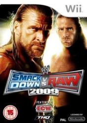 THQ WWE SmackDown vs Raw 2009 (Wii)