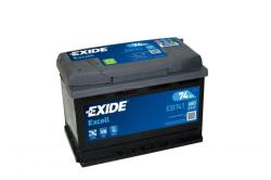 Exide Excell 74Ah 680A Bal+ (EB741)
